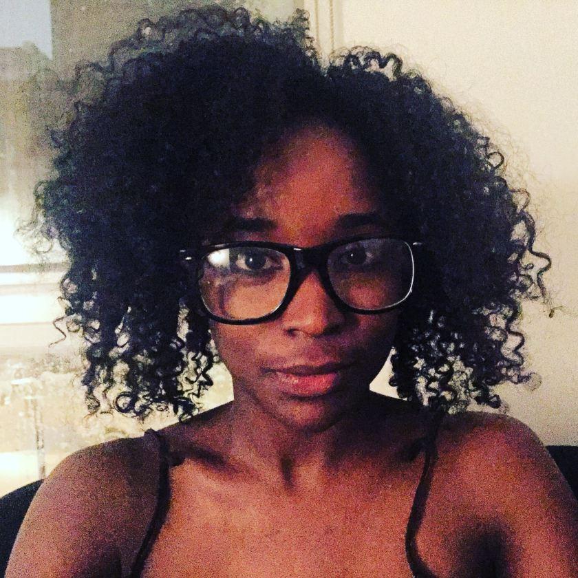 Brionna Jimerson's Big Glasses