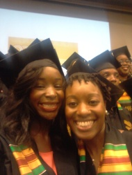 Wendell Phillips Scholar Kristen Ford!...and me
