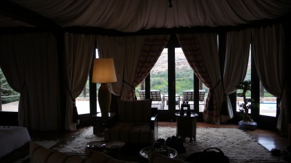 Our tent at Kasbah